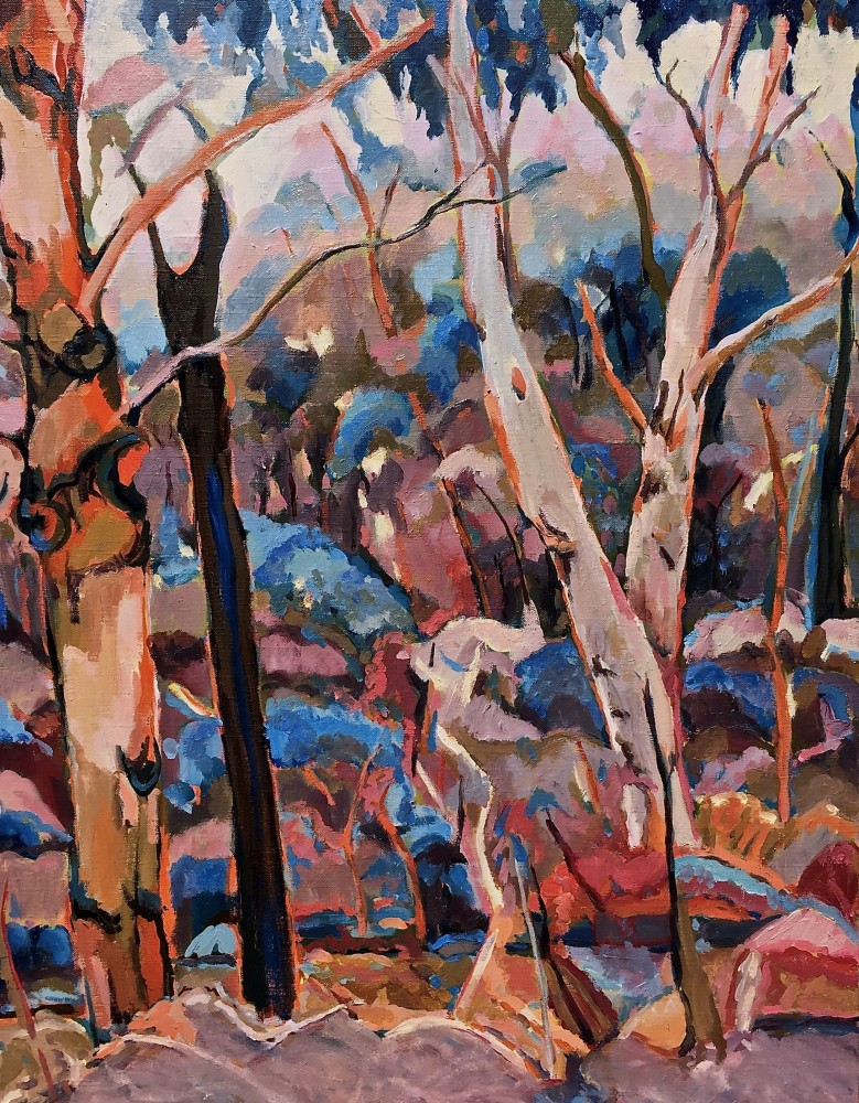 Bush Landscape Revisited by barbara bateman