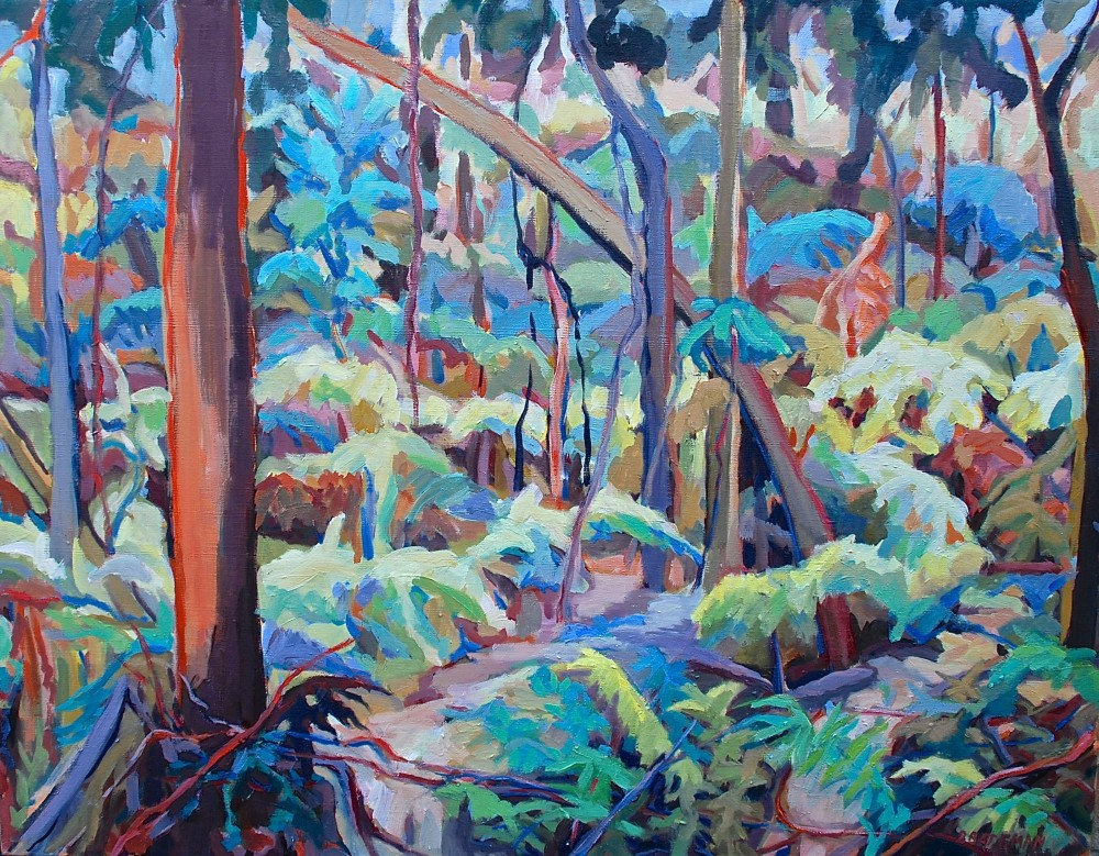 Bush Walk by barbara bateman