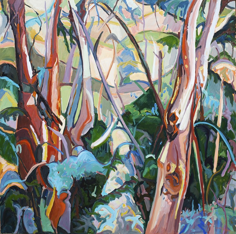 On a Hillside in the Bush by barbara bateman
